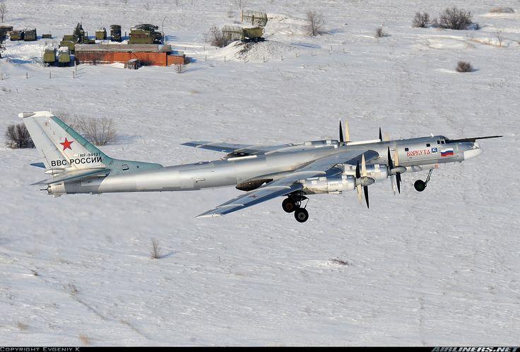 Russia - Air Force   Tupolev Tu-95MS