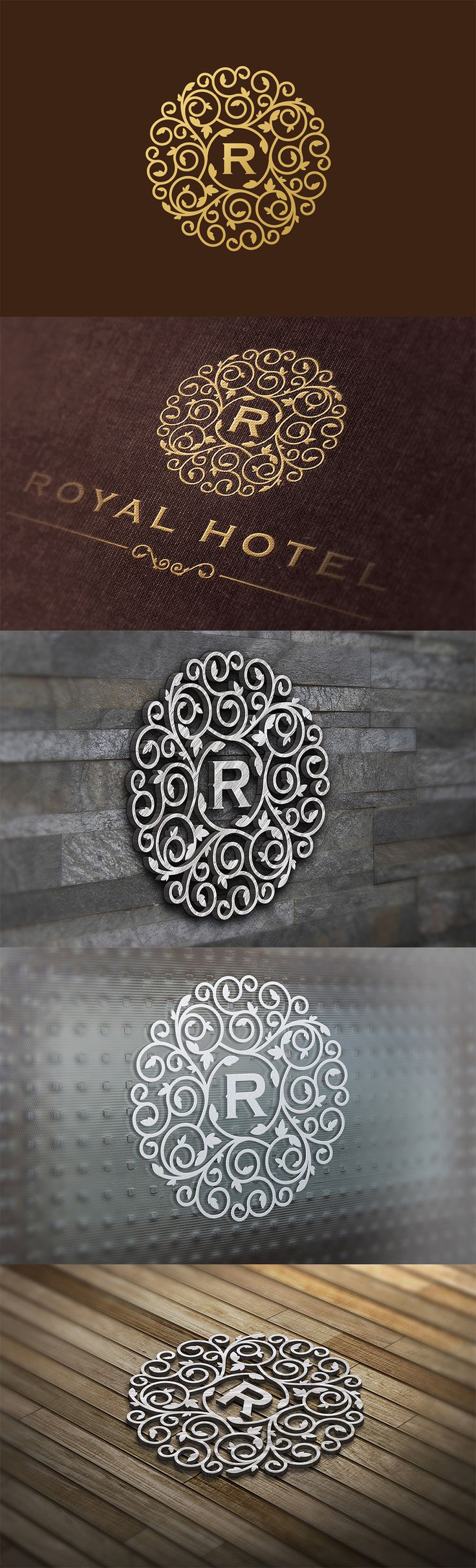 Royal Luxurious Logo Template.                                                                                                                                                                                 More