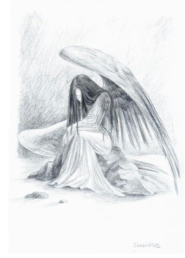 желаю праздник картинки рисование карандашом ангелы всплывают новые