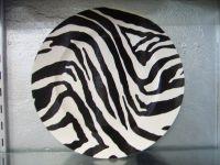 Zebra Acrylic Plate @mbarthomewaresgiftsfashion.com.au $15.95