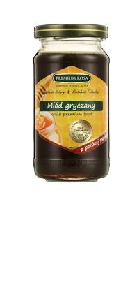 Miód gryczany. Buckwheat honey. Polecany w leczeniu nieżytów. Należy do miodów najpóźniejszych. Ma kolor ciemno-brązowy oraz posiada bardzo silny aromat kwiatów gryki. Sprawdza się jako dodatek do napojów, wypieków, czy wytwarzania miodu pitnego. Zastosowanie miodu gryczanego to: nieżyty górnych dróg oddechowych, schorzenia układu krążenia na tle miażdżycowym i nadciśnienie. Zawiera magnez zalecany w stanach wyczerpania nerwowego. Pomocny w leczeniu jaskry. #Honey #Buckwheat #Gryka