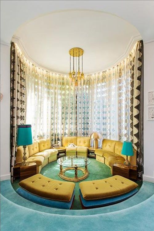 265 best images about deco hollywood regency decor on for Sunken seating