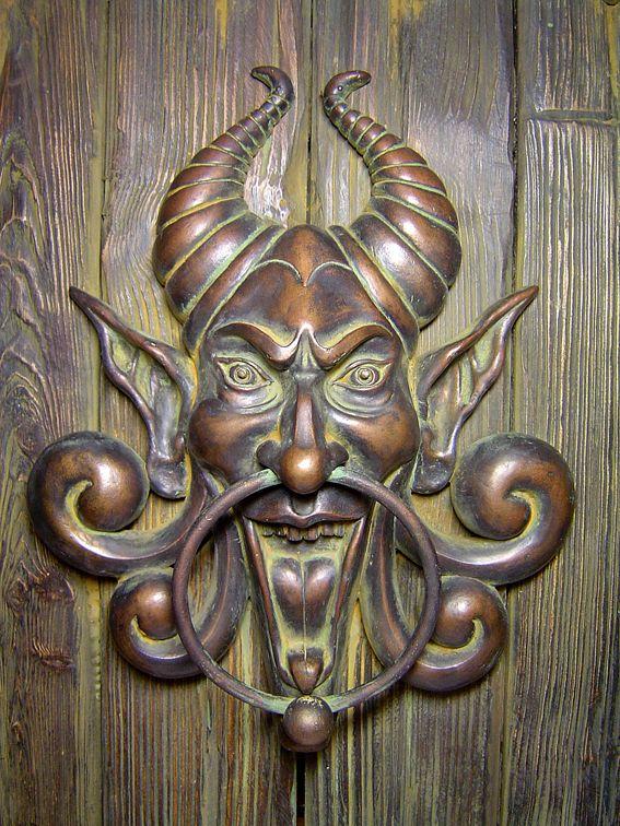 1000 images about door knobs handles keys and knockers on pinterest door handles the - Cool door knocker ...
