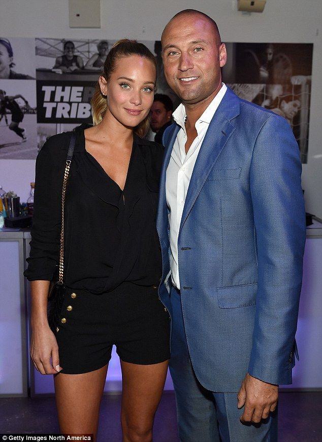 It was rumored the private couple had split and Jeter was back on the market when he announced his retirement, but five months later Davis was spotted helping him ring in his 40th birthday