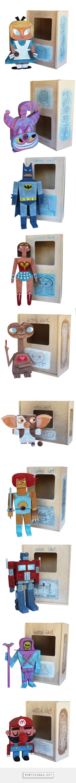 Wood Idol: Los Toys De Madera Por Amanda Visell | OFN - Blog Sobre Diseño, Publicidad Y Cosas Bizarras - created via https://pinthemall.net