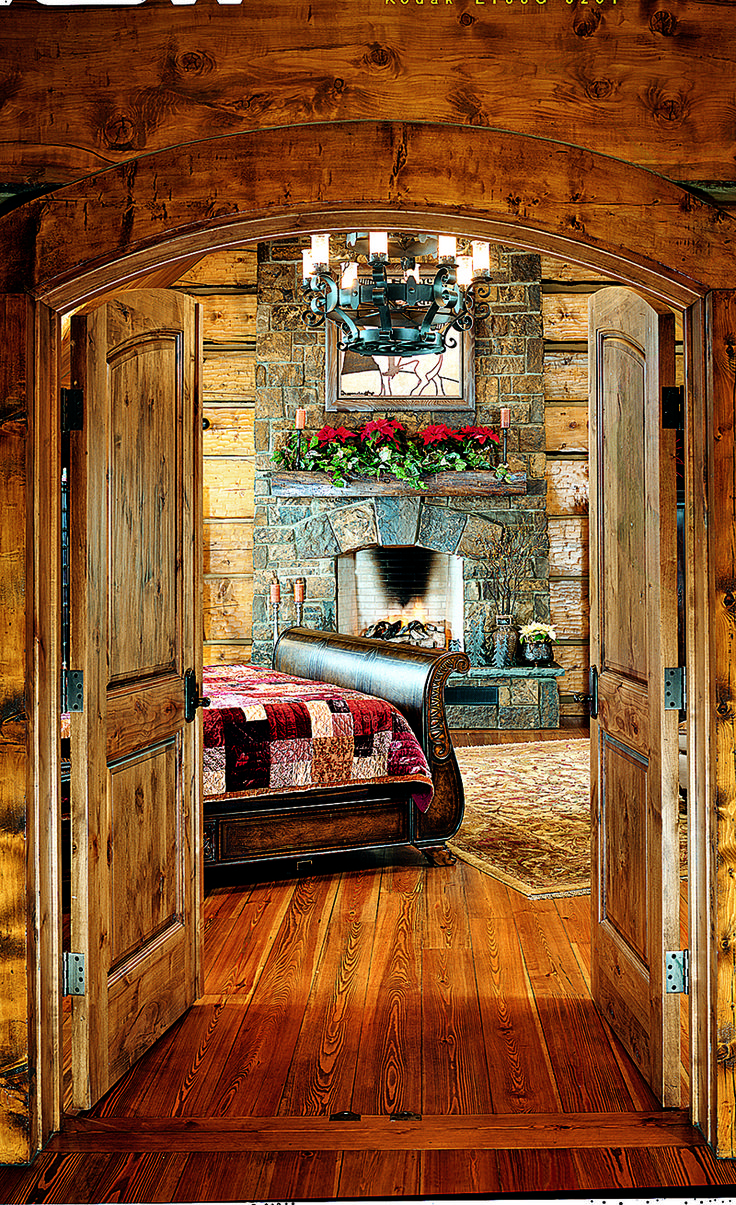 Christmas cabin interior - Find This Pin And More On Rustic Christmas