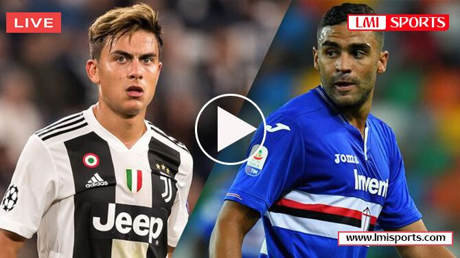 Juventus Vs Sampdoria Juventus Live Live Streaming Juventus