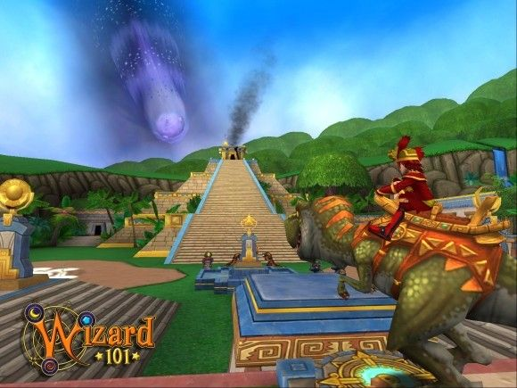 2013 Pics of Cool Wizard 101 | Wizard101 invites us to the dinosaur world of Azteca embargo 100 pm ...