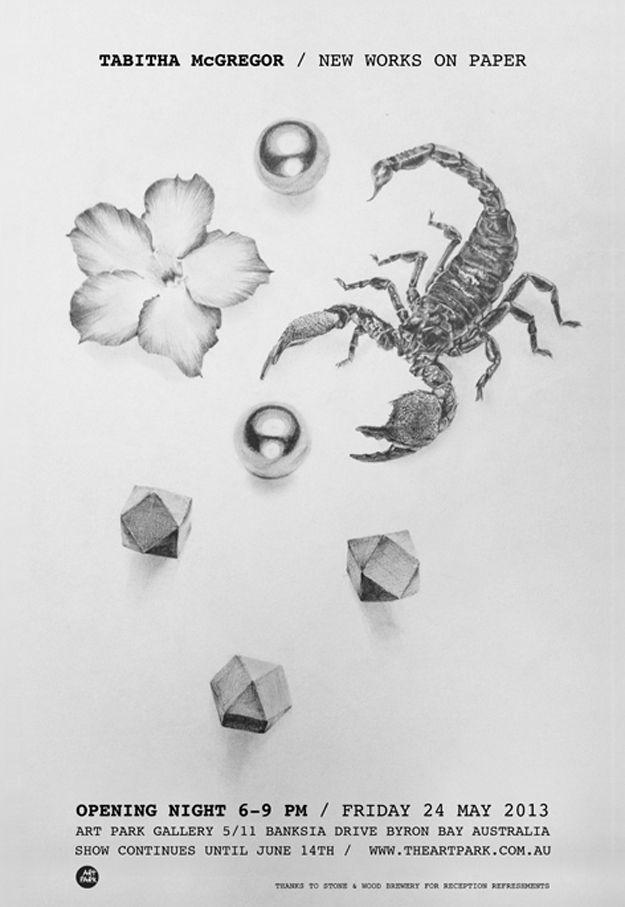 Tabitha McGregor – New Works On Paper