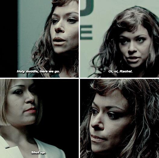Orphan Black // Tatiana Maslany // Alison Hendrix As Sarah Manning // Sarah Manning As Rachel