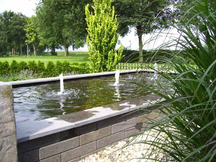 8 best vijvers images on pinterest pond for Rechte vijver