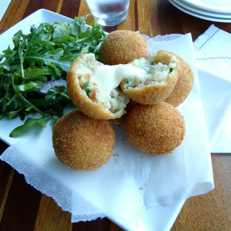 17 dishes that are all about melted cheese, starting with Bacon and Cheese Croquettes by dallyjb