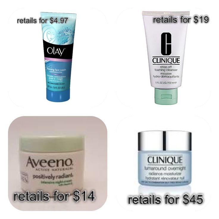 I love Clinique products, but they can be expensive and must be bought at select retailers. These are a couple of great dupes that are cheaper and can be bought at the drugstore!  #beautydupes #cliniquedupes #olay #aveeno