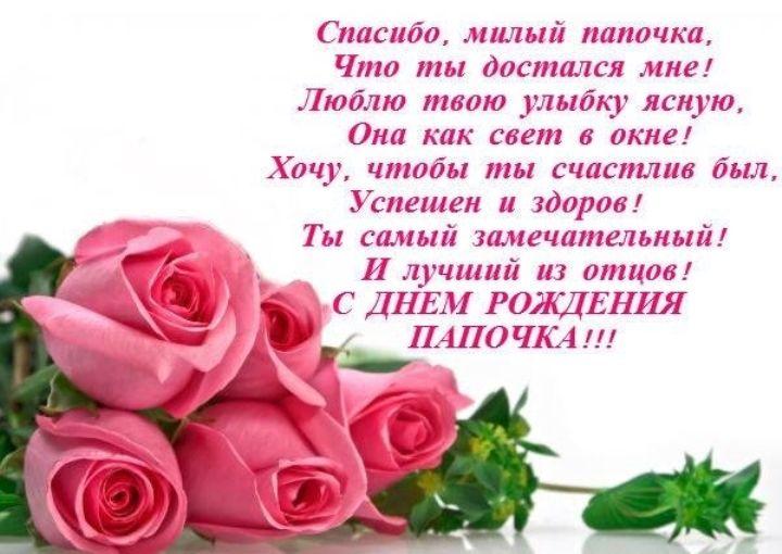 Открытки с днем рождения папе от дочери фото на русском языке, смешные