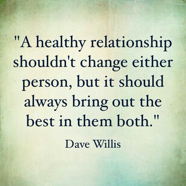 how to develop a healthy relationship or friendship