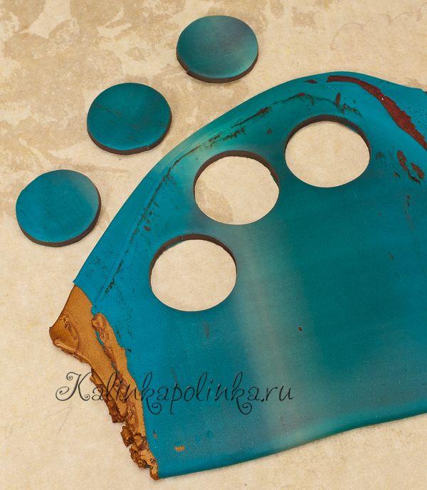 Состариваем бусины с помощью соли) - Полимерная глина для начинающих. Мастер классы по лепке. - Мастер-классы - Kalinkapolinka