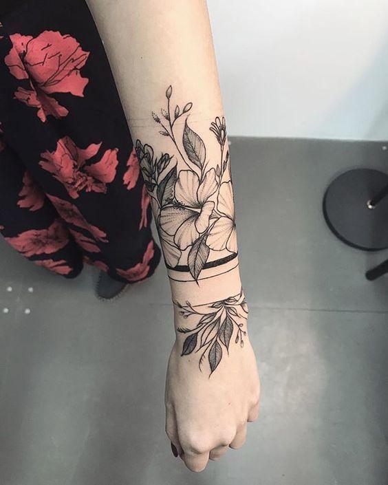 30 Ideen von Tattoos Manschetten für Frauen – #of #women #Idees #les #Man … –