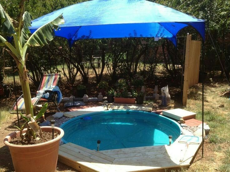 Pin by southern bella paperie on a trough pool pinterest - Convert swimming pool to rainwater tank ...
