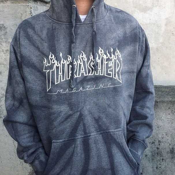 Thrasher - Logo Tie Dye Hoodie