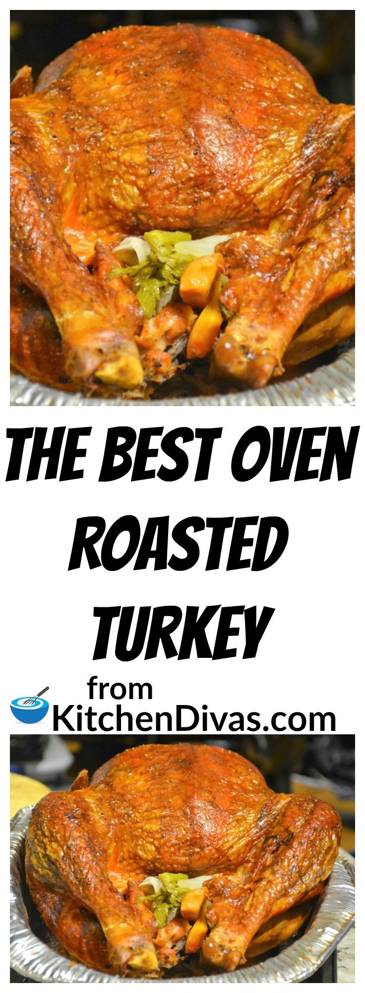 We love making turkey!  I think it is my favorite meal of all time!  The turkey, the stuffing, the potatoes, the crispy turkey skin, the gravy!  I love it all.  This turkey recipe is easy and a a definite keeper!