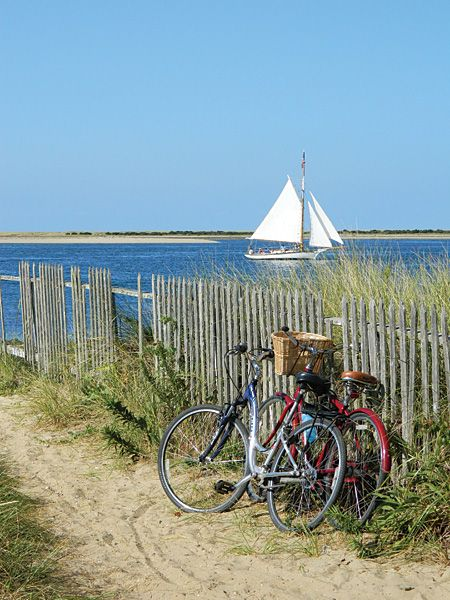 On the water or on a bike! either is a perfect day on Nantucket photo by John Fitzgerald                                                                                                                                                      More