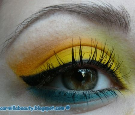 Sunny Yellow http://www.makeupbee.com/look.php?look_id=53396