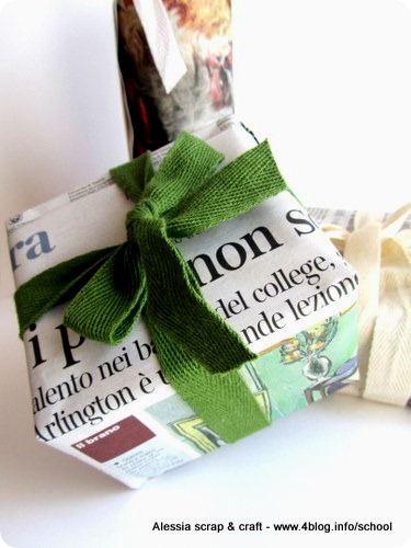 Emballages pour cadeaux de Noël chics et écolos / Christmas packages eco chic