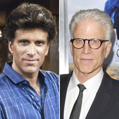 It's Ted Danson's 68th Birthday — See the Cast of 'Cheers' Then and Now!