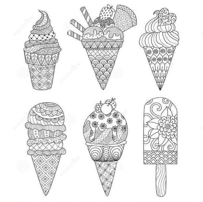 Free Printable Ice Cream Coloring Pages Coloring Books Coloring
