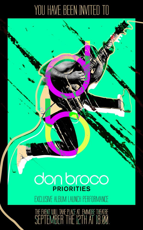 Don Broco's Concert Flyer and Poster