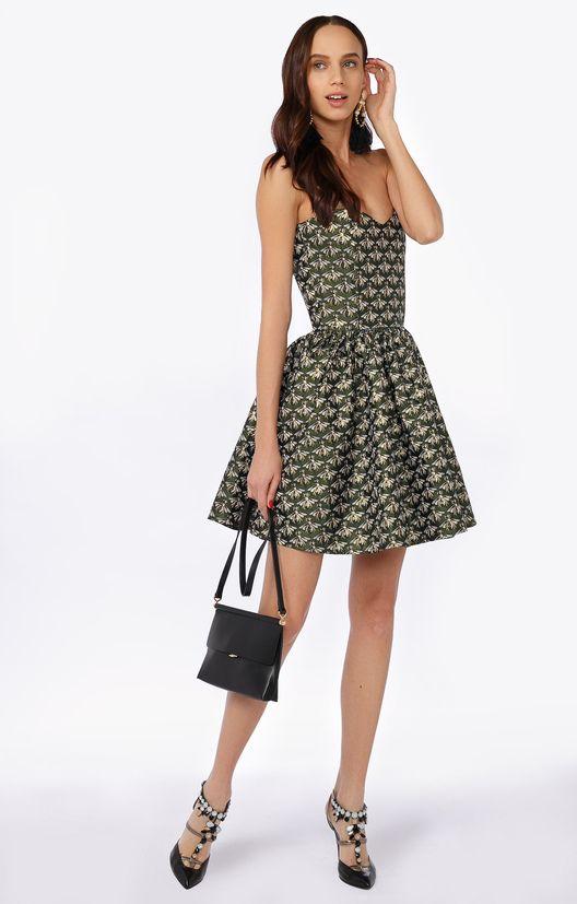 Короткое платье-бюстье с пышной юбкой FORS / 2000000182391-1