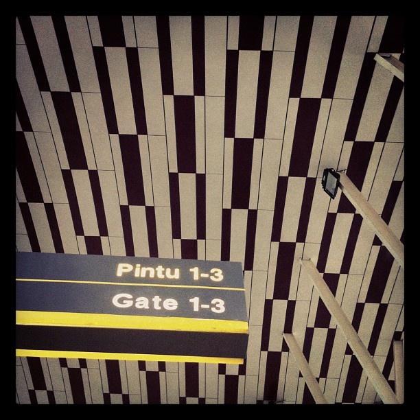 #gate 1-3 #airport #makassar