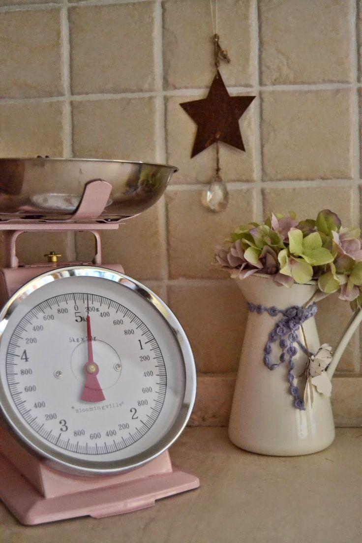 accessori cucina shabby chic - Cerca con Google   Idee per la casa ...