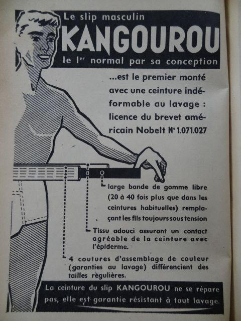 pub slip kangourou le slip masculin c t pub vintage pinterest. Black Bedroom Furniture Sets. Home Design Ideas