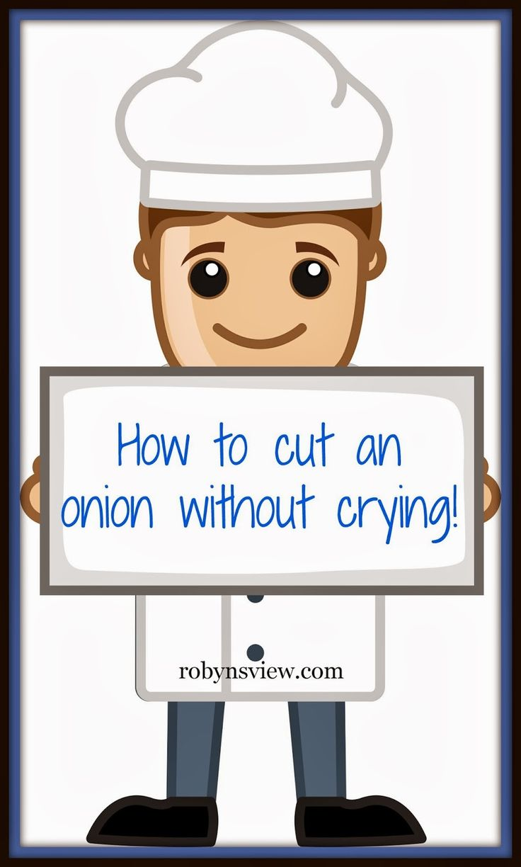 How to Slice an Onion Without Crying