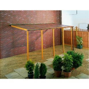 Wickes PVCu Clear Corrugated Sheet 660x1800mm   Wickes.co.uk