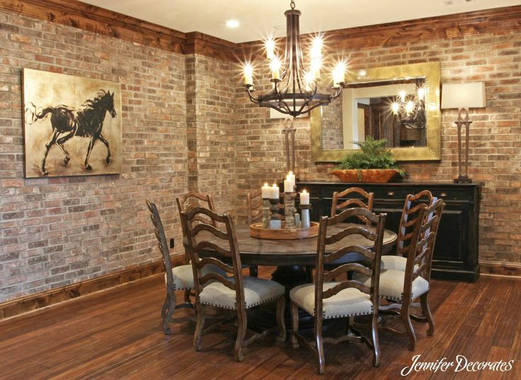 Brown Dining Room Decorating Ideas 87 best dining room decorating ideas images on pinterest | dining