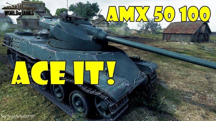 World of Tanks - ACE IT! [AMX 50 100 | 4000 DMG, 6 KILLS]