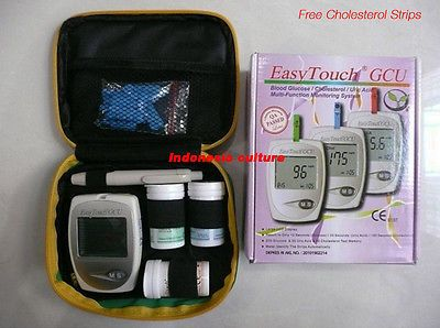 Cholesterol Testing: Easytouch Gcu Glucose Cholesterol And Uric Acid Blood 3 In 1 Monitoring Tester -> BUY IT NOW ONLY: $43.5 on eBay!