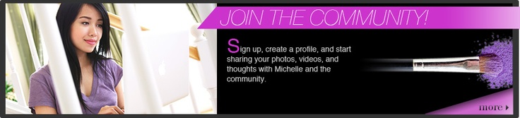 If you don't know about Michelle,  join her website Michelle Phan.com.