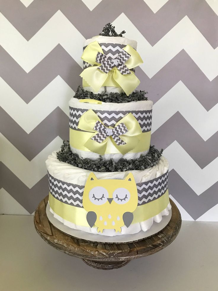 Owl Diaper Cake Decorations : 131 best ~ Owl Theme Baby Shower ~ images on Pinterest ...