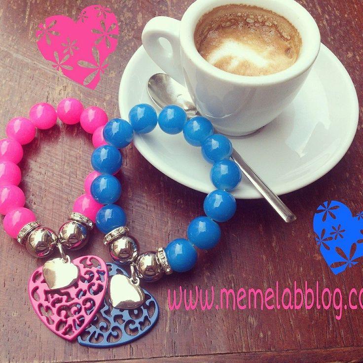 Bisogno di #caffè  modalità on E nuova Collezione bracciali www.memelabblog.com