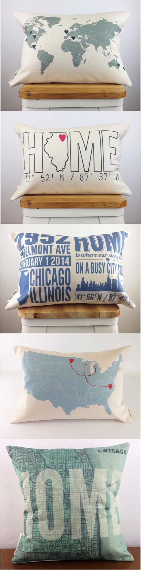 home is where the custom made personalized pillow is