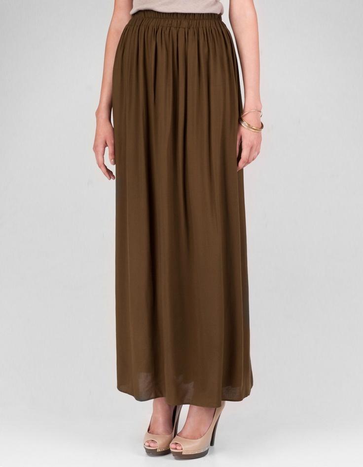 Falda larga (Stradivarius, 25.95€) - Ref. 7005/083