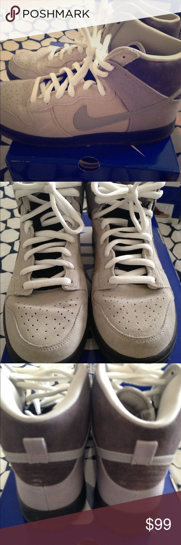 Nike Dunk High Pro SB Comes with box.  Worn once. Nike Shoes