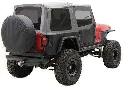1987 1995 Jeep Wrangler Yj Soft Top Smittybilt Jeep Soft