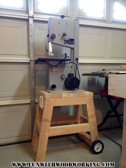 #KregJig Project: Quick and Easy Stand for My Bandsaw