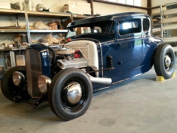 '31 Ford 5-Window Coupe. Really starting to like these types of hod rods.