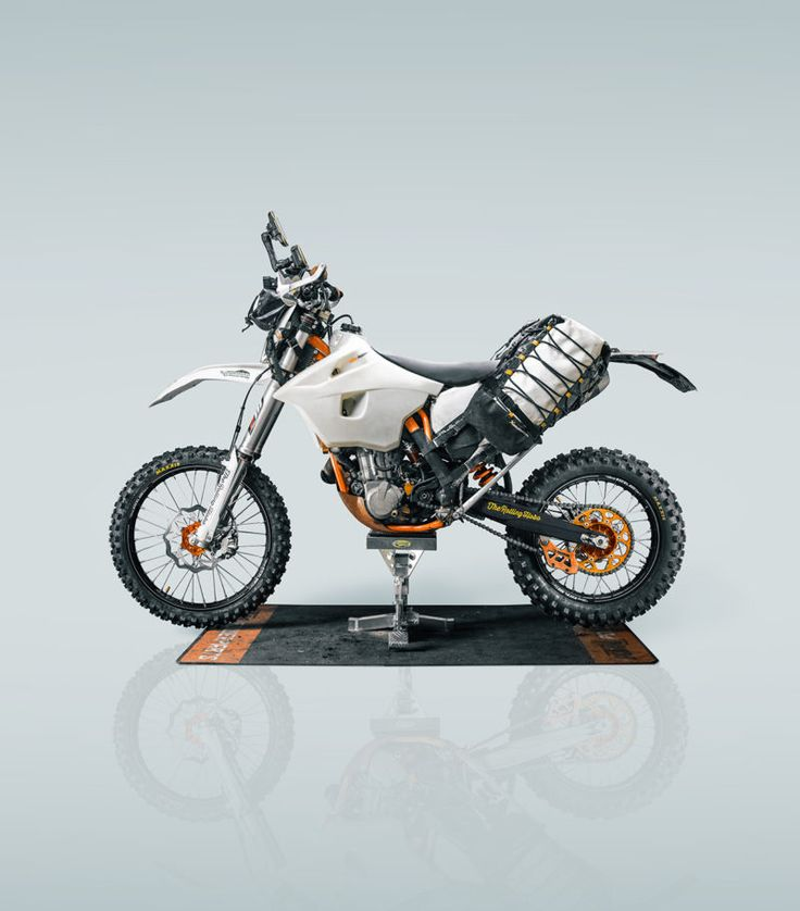 Adventurizing the KTM 500 EXC (With images) Ktm