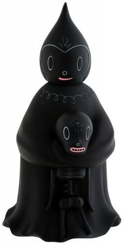 'Midnight Magi' by Gary Baseman and produced by Kidrobot . The second release of their limited Black series.